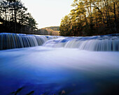 Hawk Creek Falls. Johnson County. Arkansas. USA