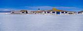 Salt Hotel. Salar de Uyuni (Uyuni salt flat). Bolivia