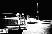 America, Auto, Automobile, Automobiles, Autos, B&W, Black-and-White, Car, Cars, Exterior, Highway, Highways, Horizontal, Intrigue, Intrigues, Machination, Machinations, Mid-Atlantic USA, Monochromatic, Monochrome, Motion, Movement, Moving, Mysterious, My