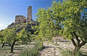 Spain. Comunidad Valenciana. Alicante Province. Cocentaina. Penella castle (12th Century). Arabic