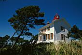 Yaquina Bay Lighthouse. Oregon. USA