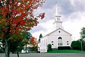 Autumn colors. New England. USA