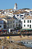 Calella de Palafrugell (Costa Brava - Rough Coast). Baix Empordà Region. Girona Province. Catalonia. Spain