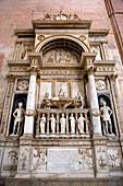 Doge tomb, Basilica di San Giovanni e Paolo, San Zanipolo Church, Venice, Veneto, Italy