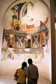 Romanesque Art, Museu Nacional d'Art de Catalunya, Montjuïc, Barcelona, Catalonia, Spain