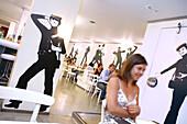 Flash Flash Restaurant, Eixample, Barcelona, Catalonia, Spain