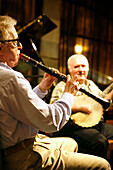 Woody Allen and New Orleans Dixie Jazz at Casa Fuster, Barcelona, Catalonia, Spain