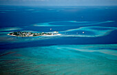 Aerial View of Maldives, Maldives, Indian Ocean, South-Male Atoll, Gulhi