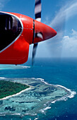Aerial View of Maldives Island, Maldives, Indian Ocean, North-Male Atoll