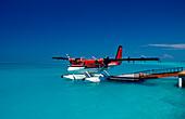 Air Taxi, Water Seaplane, Maldives, Indian Ocean, Meemu Atoll