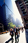 Street scenery, Midtown Manhattan, New York, USA, Amerika