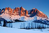 Sunrise at Wilder Kaiser range, Kaiser Mountain Range, Tyrol, Austria