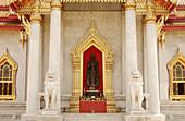 Wat Benchamabophit ( The Marble Temple ). Bangkok, Thailand.