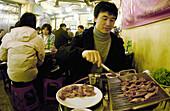 Korean barbeque, Sichon. Seoul, South Korea