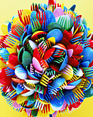 Close up, Close-up, Closeup, Color, Colored, Colorful, Colors, Colour, Coloured, Colourful, Colours, Concept, Concepts, Cutlery, Fork, Forks, Indoor, Indoors, Inside, Interior, Many, Object, Objects, Plastic, Spoon, Spoons, Still life, Thing, Things, Ver