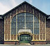 Zollern II/IV. Coal mine (1898). Part of the Westphalia Industry Museum. Dortmund. Germany.