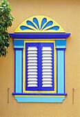 Window in the Caribbean