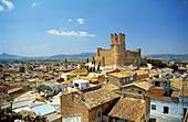 Castle, Villena. Alicante province, Comunidad Valenciana. Spain