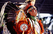 Native American Indian (Pow-Wow tribe). Ft. Lauderdale. Florida. USA
