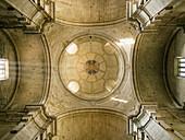 Ceiling, church of San Francisco. Santiago de Compostela, La Coruña province, Galicia. Spain