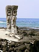Pu uhonua o Honaunau. Hawaii. USA.