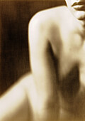 Close-Up of Nude Woman