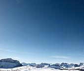 Mountain Range, Rocky Mountains, Alberta, Canada