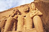 Temple of Abu Simbel. Egypt