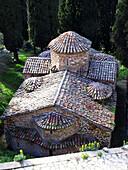 Church of Agios Nikolaos in Karitena town. Arcadia, Peloponnese. Greece