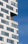 Apartment building. Sporenburg, Netherlands
