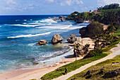 Coast-line, Bathsheba, Barbados, Caribbean