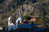 Orthodox church in Pedoulas village, Marathasa valley, Troodos mountains, South Cyprus, Cyprus