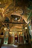 Church of Agios Nikolaos tis Stegis, painted church with fresco, UNESCO World Heritage Site, near Kakopetria, Troodos mountains, South Cyprus, Cyprus