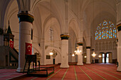 Interior view of Selimiye Mosque, formerly St. Sophia Cathedral, Lefkosia, Nicosia, North Cyprus, Cyprus
