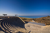 Kourion Theatre in the ancient city of Kourion, Kourion, South Cyprus, Cyprus