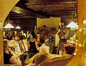 Music in a tavern, inn, Upper Bavaria, Bavaria, Germany