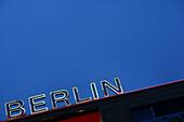 Advertising Sign for berlin, Berlin, Germany