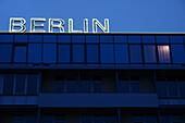 Neon writing, Berlin, Germany