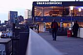 Restaurant Uberseebrucke, Hamburg, Germany