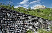 Archeological site. Xochicalco. Mexico