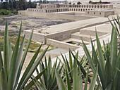 Temple of Pachacamac archaeological site near Lima. Peru