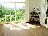 Reading room in Monticello, Thomas Jefferson s home. Virginia. USA