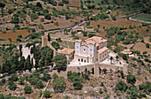 Church of Sant Salvador on the top of fortified hill, Artà. Majorca, Balearic Islands. Spain