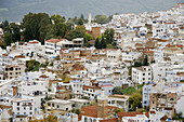 Chefchaouen general view, Morocco.