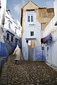 Typical street. Chefchaouen. Morocco