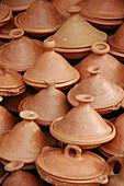 Tajines. Chefchaouen. Morocco