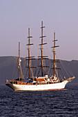 Gûlet (Turkish yacht) on the Aegean Sea near Bodrum. Bodrum. Turkey