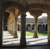 Patio of Minor Schools. Salamanca. Spain