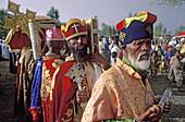 Parade of Palm Sunday. Aksum, province of Tigray. Ethiopia