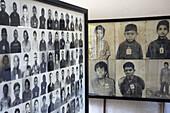 Toul Sleng Genocide Museum. Phnom Penh. Kingdom of Cambodia.